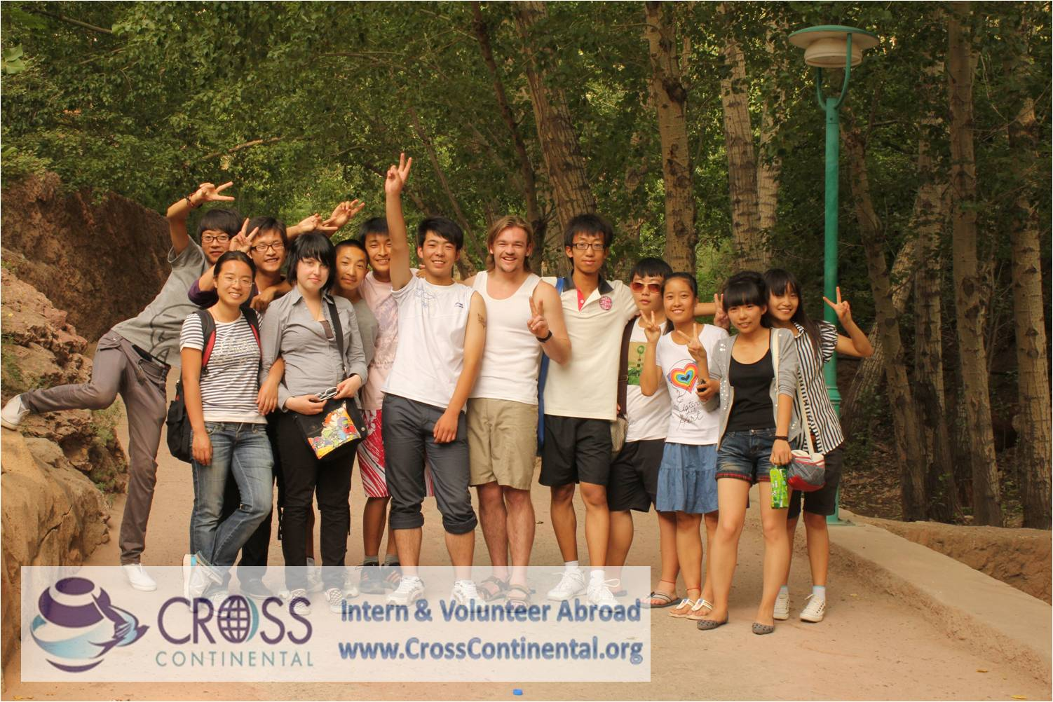 International volunteer and intern abroad china asia