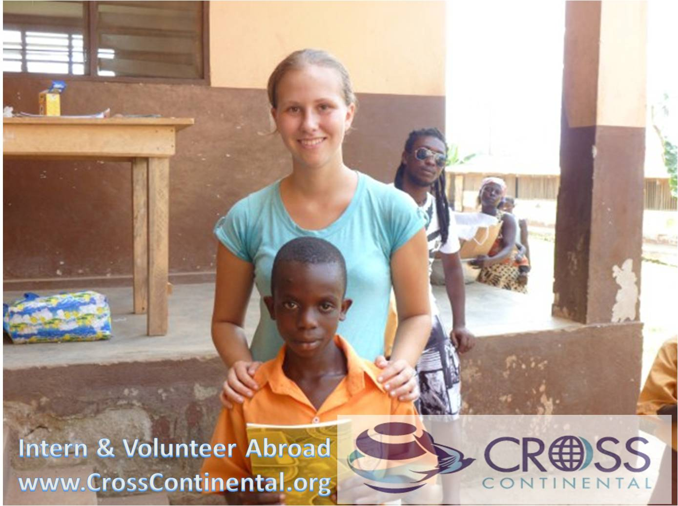 International volunteer and intern abroad Ghana Africa