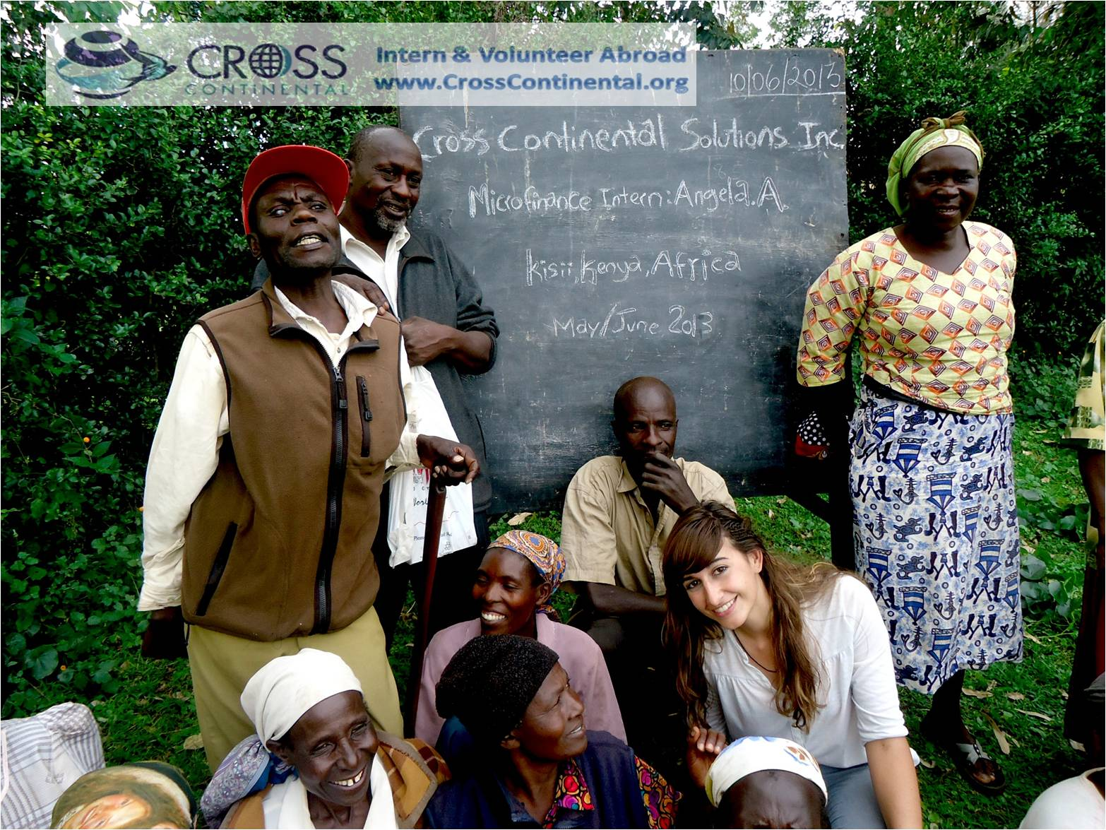volunteer abroad, intern abroad, international internships, in Africa Kenya Microfinance