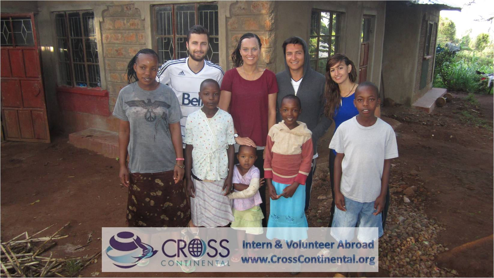 volunteer abroad group in Africa Kenya