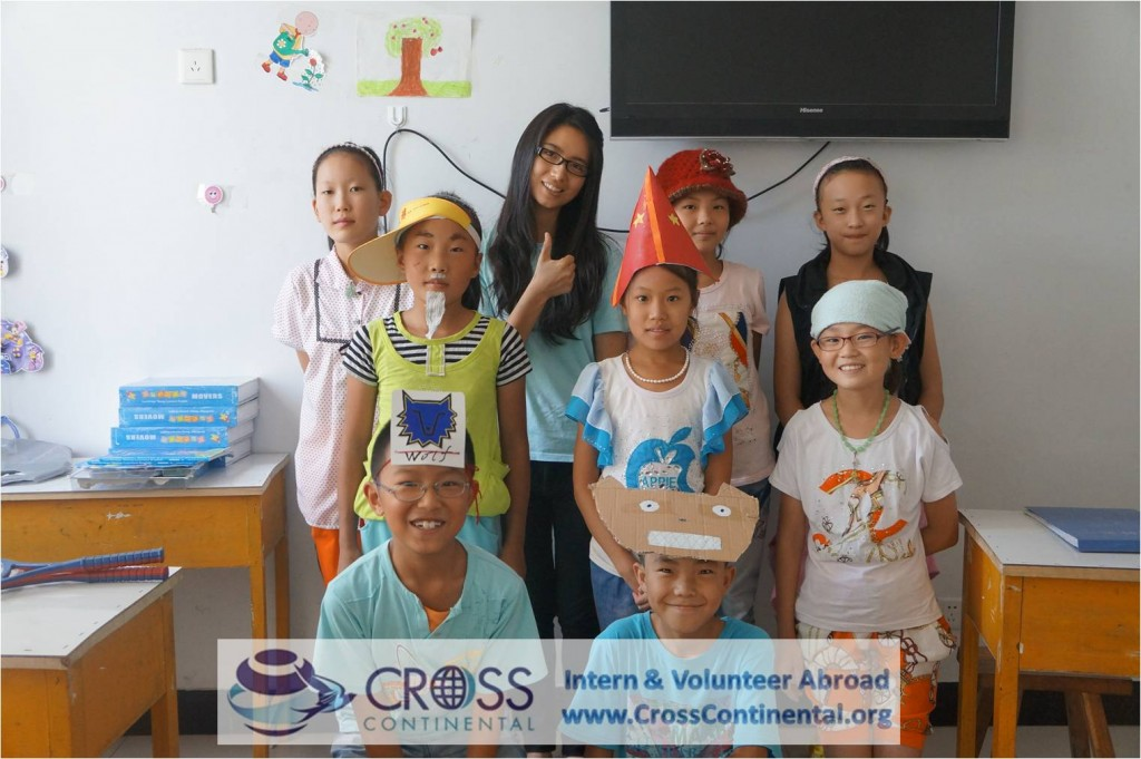 international internships and volunteer abroad-Asia-China-teaching