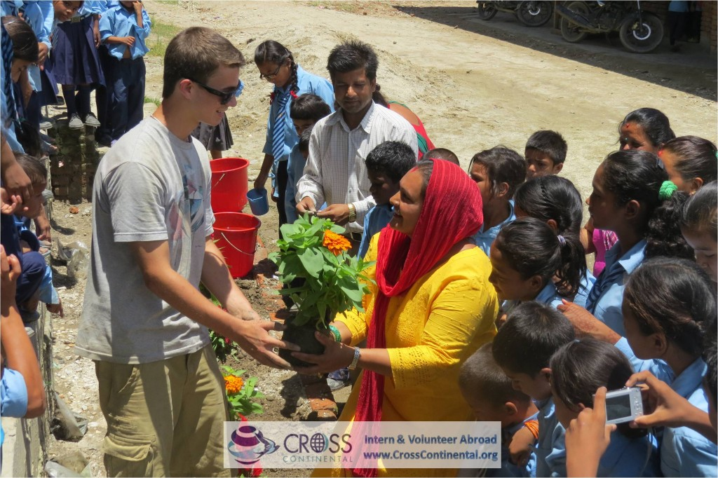 international internships and volunteer abroad Asia Nepal 176 intern abroad orphanage work and garden construction projects abroad