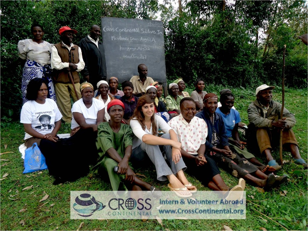 international internships and volunteer abroad Africa, Kenya, intern abroad in microfinance projects abroad