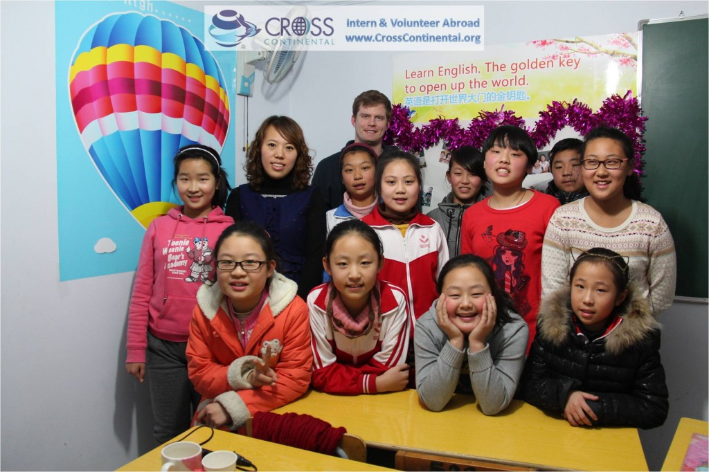 international internships and volunteer abroad Asia-China-131-intern abroad, teaching English in high school