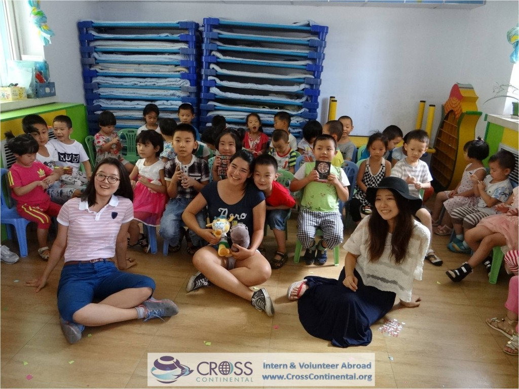 international internships and volunteer abroad Asia China 143 intern abroad teaching children caregiving