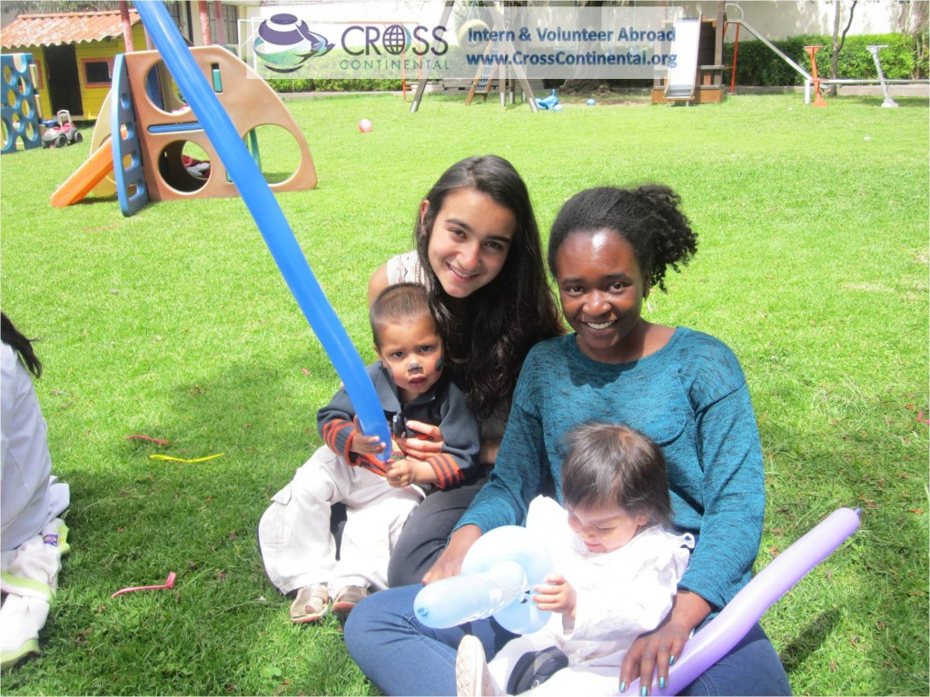high school volunteer abroad orphanage work South America Quito Ecuador 164